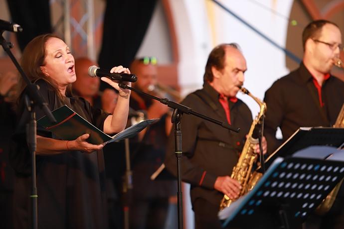 Bára Basiková na Jazz Weekendu