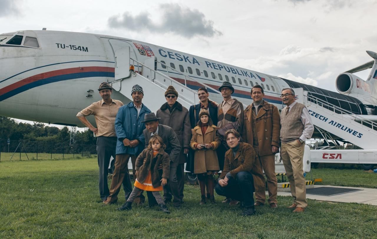 Natáčení filmu Ostrov svobody v Leteckém muzeu v Kunovicích