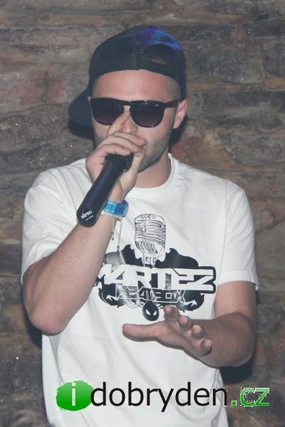 Vystoupení hvězdy slovenského hip-hopu