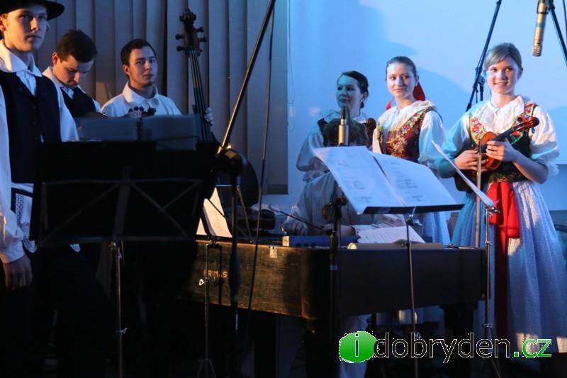 Vánoční vystoupení Děcek z Buchlovic