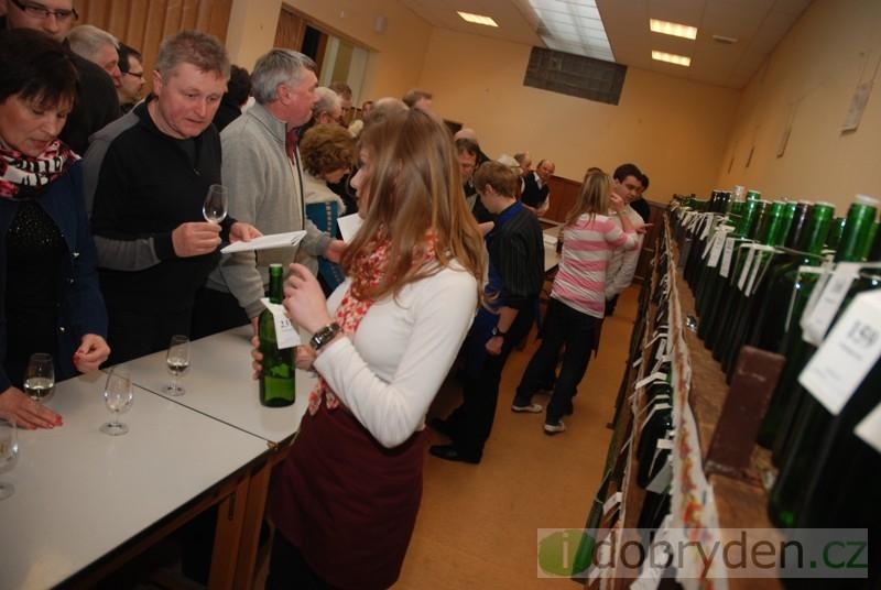 Košt vína ve Vážanech 2013