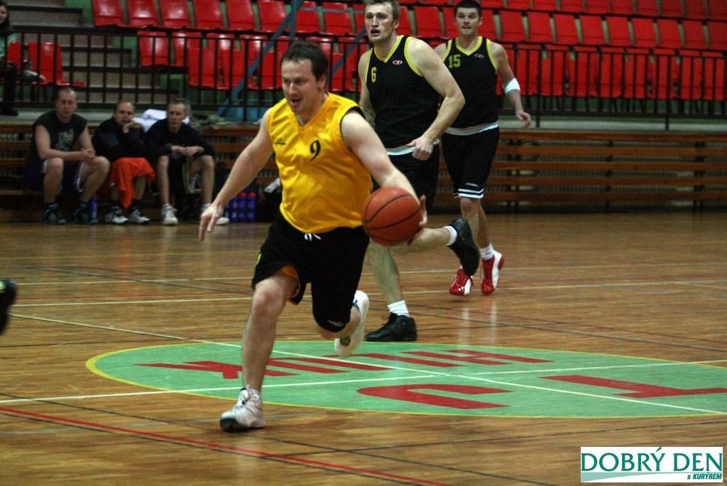Basketbalové utkání Hluk - Mikulov