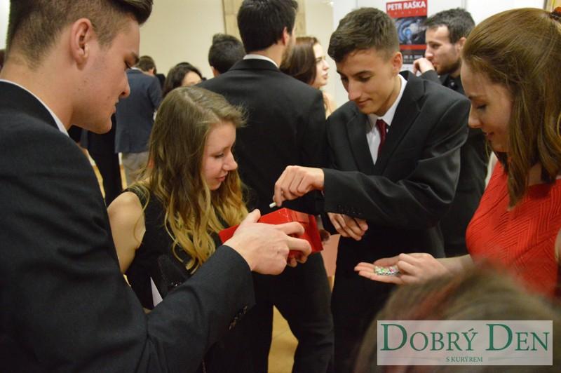 24. ples středoškoláků v Uherském Hradišti
