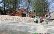 Výstavba dětského hřiště v Bílovicích