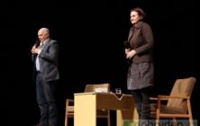Klepl a Holubová na scéně