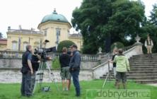 První natáčecí dny české pohádky Čertova nevěsta