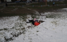 První umělý sníh na Stupavě