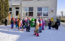 Školní fašank v ZŠ Huštěnovice