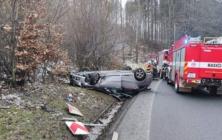 Nehoda v Buchlovických horách - 21. 2. 2021