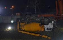Havárie domíchavače v Uh. Brodě - vyprošťování