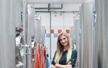Veronika Mandová, nová ředitelka Jarošovského pivovaru