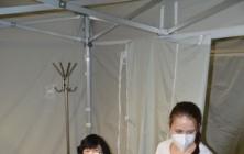 Očkovací centrum v kině Máj