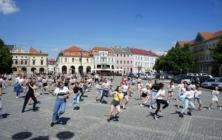 Roztančené náměstí žáky ZUŠ Uh. Hradiště
