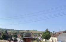 Pohled do tábora před dobovou bitvou nad Boršicemi