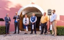 Zahájení výstavy v Galerii Slováckého muzea a předávání cen Ministerstva kultury.