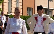 Krojovaný průvod na Slováckých slavnostech vína 2021