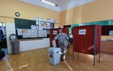 Z volební místnosti