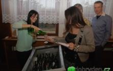 Košt vína ve Zlechově