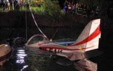 Pád letadla do nádrže s pitnou vodou
