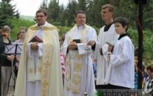 Svěcení kaple svatého Kříže na Smraďavce