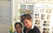 Lenka Výmolová se synem Janem Kunovským na ostrově Palawan