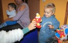 Mikuláš v azylovém domu Petrklíč