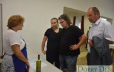 Košt burčáku a vína v Drslavicích