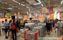 Hobby market hlásí otevřeno