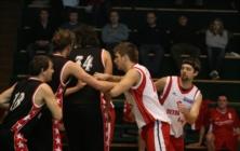 Basketbalové utkání Uh. Brod - Kroměříž