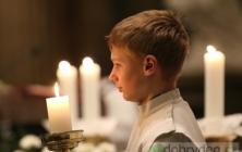 Půlnoční mše svatá ve Velehradě