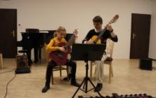 Lekce kytary Alexandra Glizeho na Základní umělecké škole v Uherském Hradišti