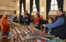 Výstava modelů vláčků v Uherském Hradišti
