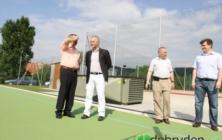 Otevření víceúčelového hřiště v Pitíně