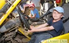 Sraz samohybů v Osvětimanech