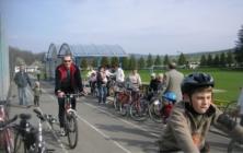 Otevírání cyklostezky v Šumicích