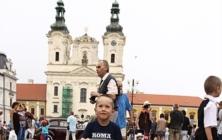 Veteráni na náměstí v Uh. Hradišti
