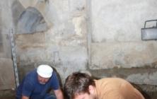 Vykopávky v Lapidáriu velehradské baziliky