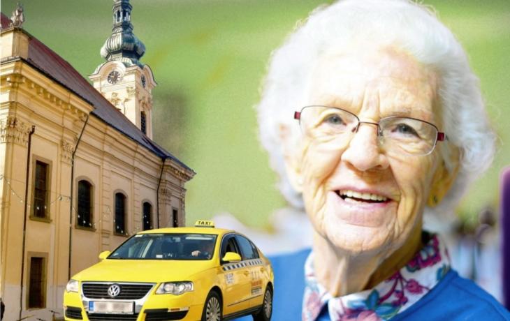 Penzisté jezdí po Brodu za polovinu. Senior Taxi je už vozí i do kostelů