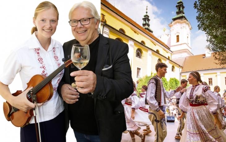 Oslavy vína a památek se mění v akci evropského formátu!
