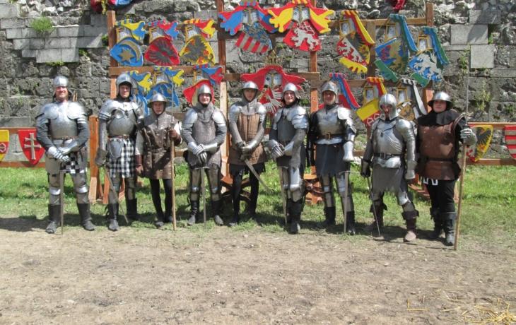 Ostrožští šermíři v Maďarsku
