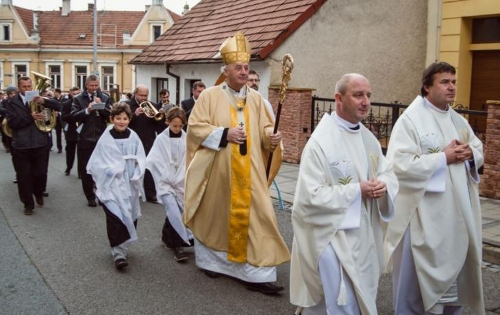 Mši svatou celebroval olomoucký arcibiskup Jan Graubner