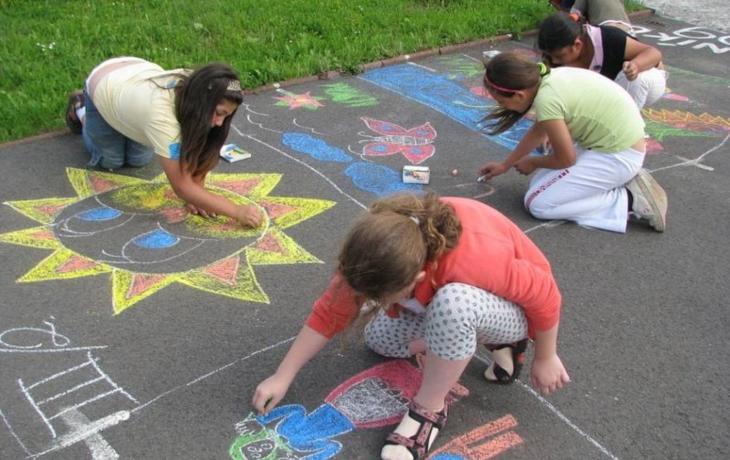 Dětská kuličiáda s rodinným malováním