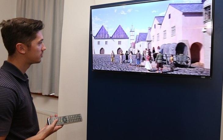 Virtuální prohlídka Hradiště ožila. Za milion!