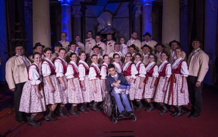 Koncert pomohl hendikepovanému Prokopovi