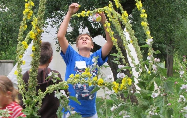 Hostětín představil první zahradu s certifikátem