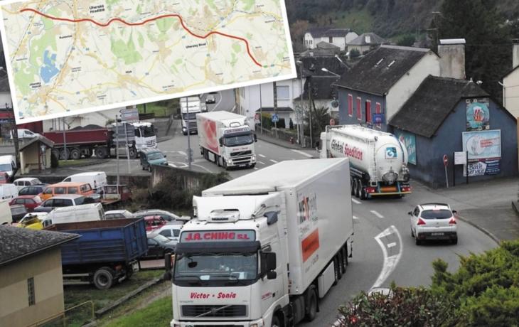 VÍME PRVNÍ: Obce na Slovácku děsí návrat kamionů. Za cestu na Slovensko se má od ledna platit!