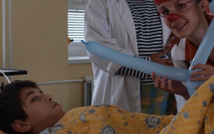 Děti rozveselili zdravotní klauni
