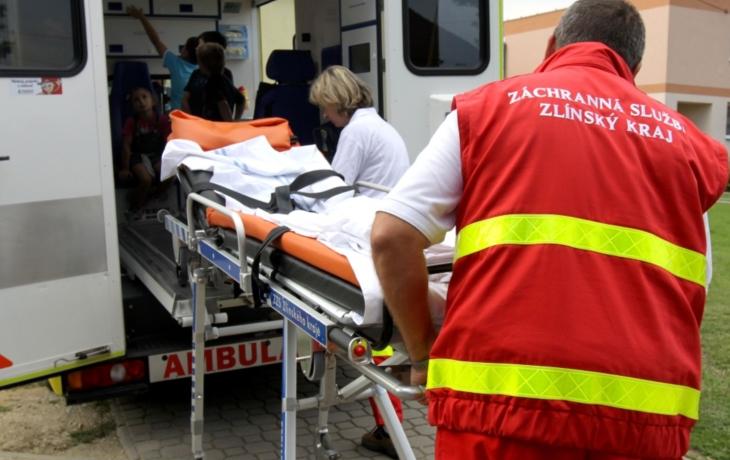 MIMOŘÁDNÁ ZPRÁVA. Řidiči pozor, most přes Olšavu v Uherském Brodě uzavřela  vážná nehoda!