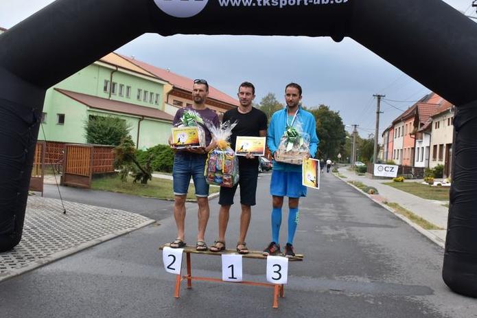 Dobročinný běh vyhrát Broďan Trtek
