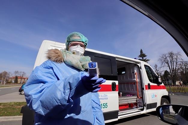 Covid-19: Nové případy nákazy hlásí Zlínsko a Kroměřížsko, v Hradišti už pomáhají studenti medicíny